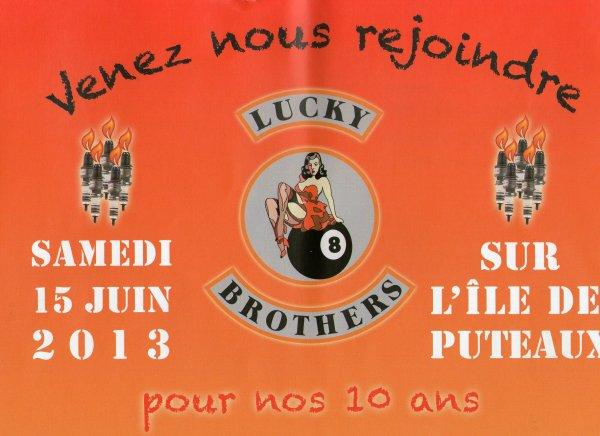 le 15 juin 2013 sur ile de puteaux chez les lucky brothers