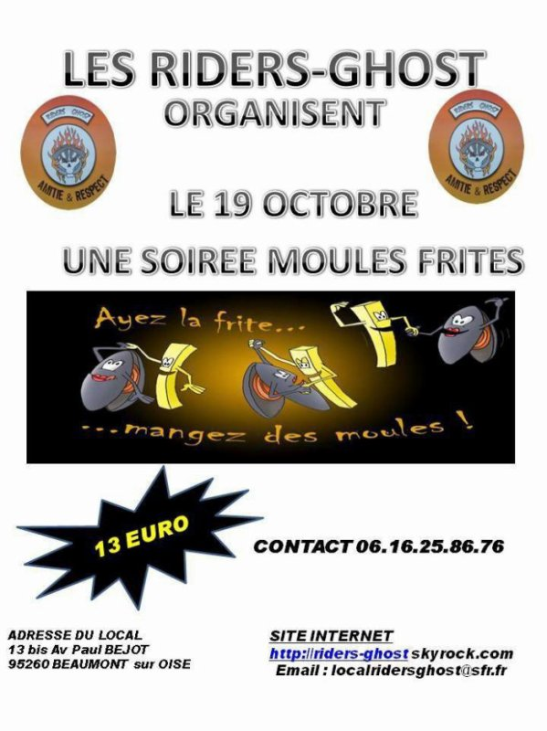 riders ghost  le 19 octobre