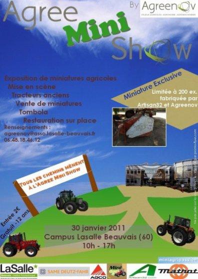 exposition a BEAUVAIS le 30 janvier