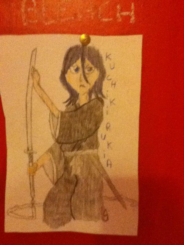 Rukia mon dessin