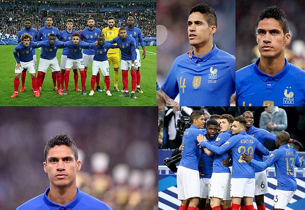 25 mars 2019 : Raphaël Varane était titulaire face à l'Islande au Stade de France pour les qualifications de l'euro 2020.   Les bleus se sont imposés 4-0, buts de Umtiti (13'), Giroud 68'), Mbappé (78') et Griezmann (84'). Gros match de toute l'équipe. [/font=Arial]