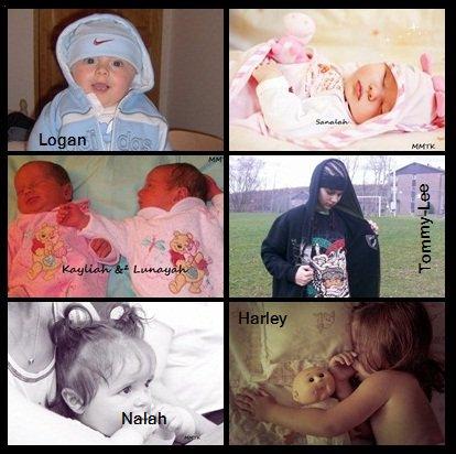 Mes enfants ... Mes fiertés , Mes 7 Monstres ♥