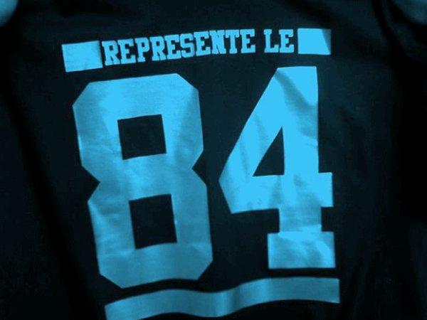 84 represente