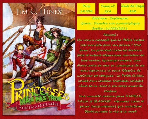 Princesses mais trop : La folie de la Petite Sirène (Jim C. Hines)