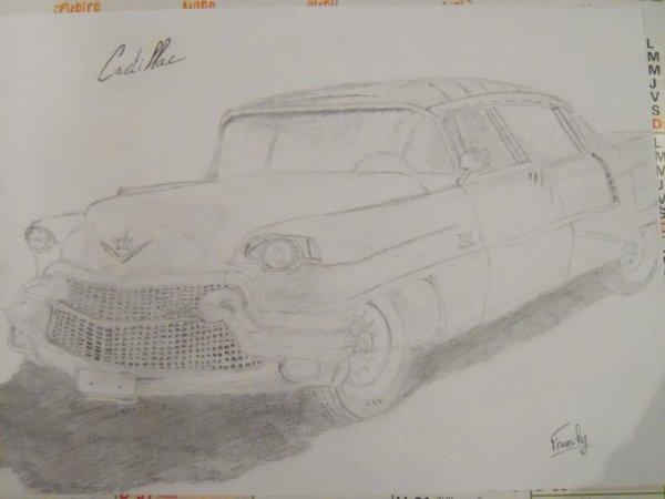 Voilà une petite Cadillac Coupe de Ville de 1955