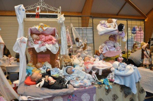 J'exposerai au salon de la poupée et du jouet ancien a wambrechies le 27 septembre prochain...