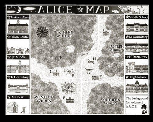 Le plan de l'Académie ~ ★