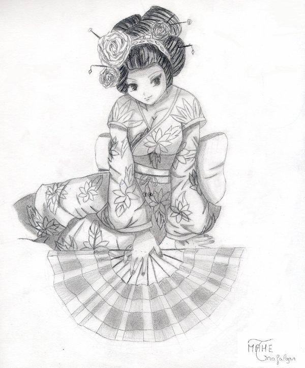 dessin manga japonaise