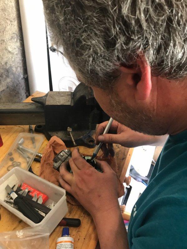 Remontage moteur MVX