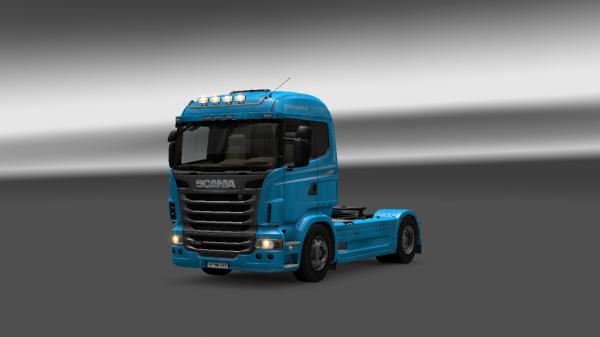 Voila mon nouveau Scania