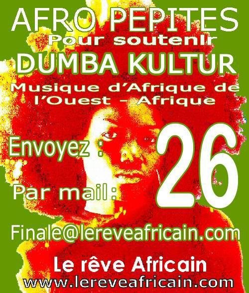Dumba Kultur finaliste du concours Afro Pépites