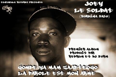Premier Album solo de Joey Le Soldat, rappeur Ouagalais.