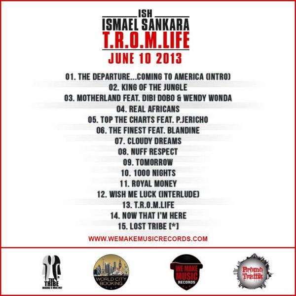 "Ismael ""ISH"" Sankara nous devoile sa Tracklist"
