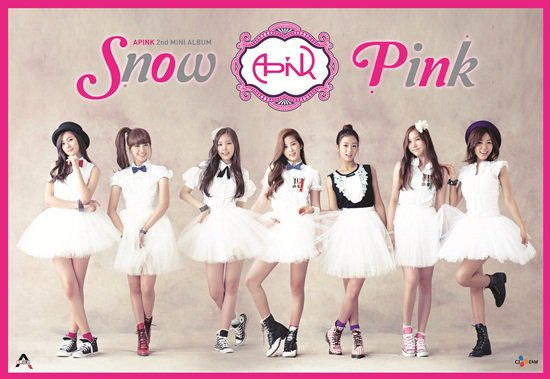 A Pink - Snow Pink
