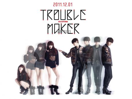 Trouble Maker = Hyunseung (BEAST) & HyunA (4minute)