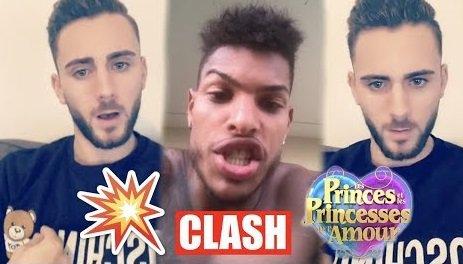 Jo latino TV info : Illan CLASH Marvin qui a VOLÉ le Téléphone de Mathieu des Princes...