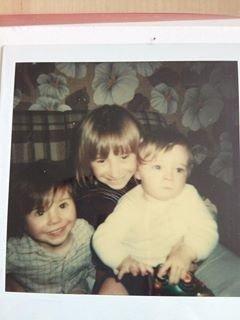 Moi avec ma cousine et mon cousin