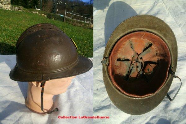 Casque Adrian des troupes Coloniale Française