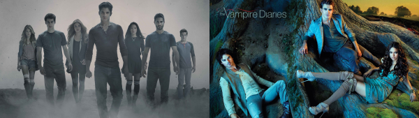 The vampire diaires / Teen Wolf