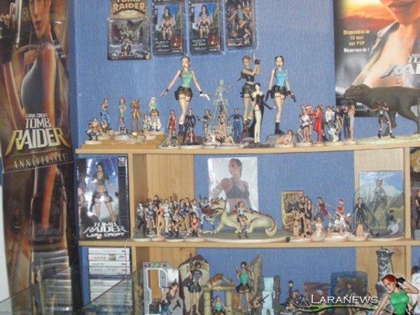 > Récapitulatif de ma collection Lara Croft : Tomb Raider