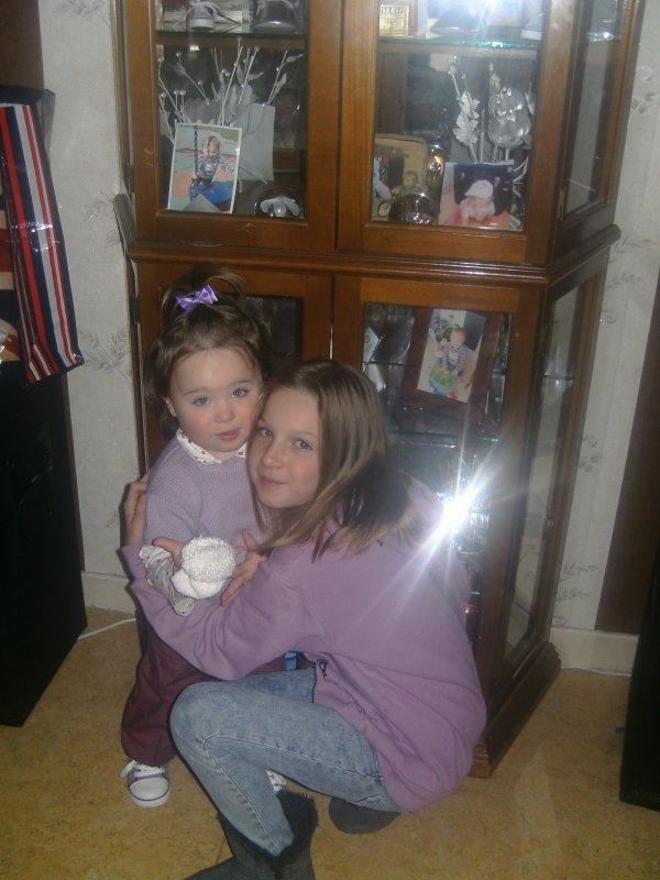 moi et ma grande soeure megane