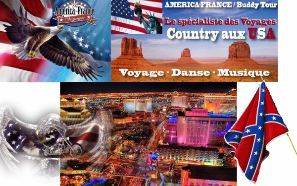VOYAGES COUNTRY AUX USA