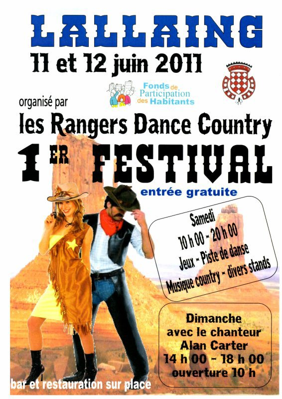 "FESTIVAL ""LES RANGERS DANCE COUNTRY"""