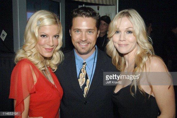 Tori Spelling, Jennie Garth & Jason Priestley