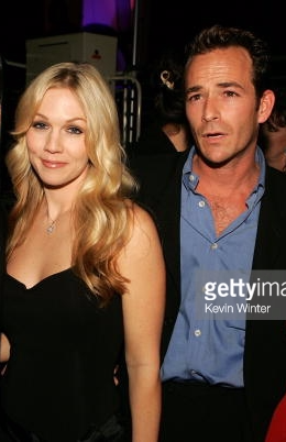 Jennie Garth (Kelly) & Luke Perry (Dylan)