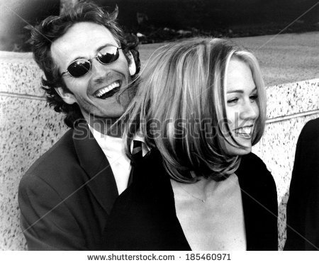 Jennie Garth (Kelly) & Luke Perry (Dylan)
