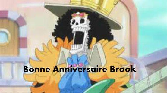 aujourd'hui anniversaire de Brook