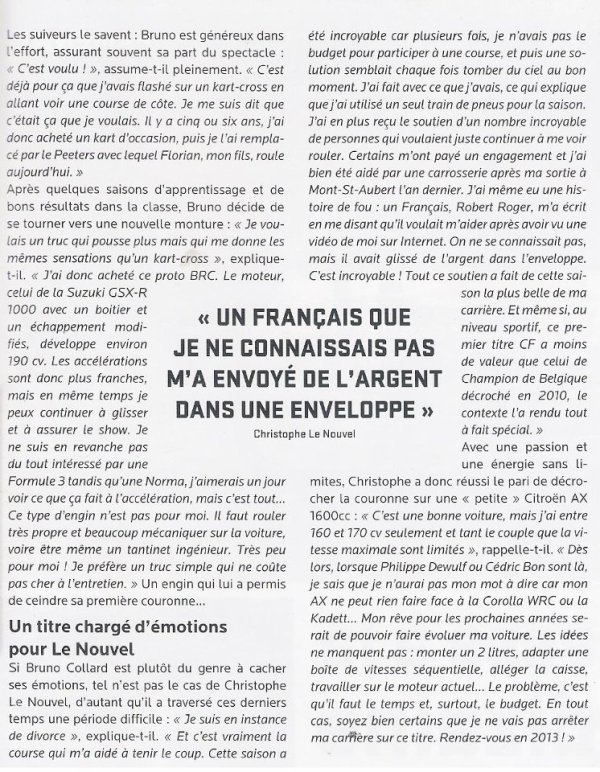 "Article ""Turbo magazine"""