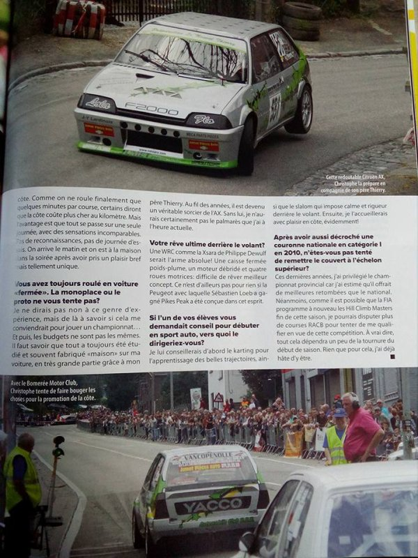 Article SPEED MAGAZINE (suite)