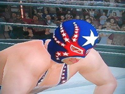 match 1 Rey Mysterio (maléfique) acc evan bourne vs Todo Americano