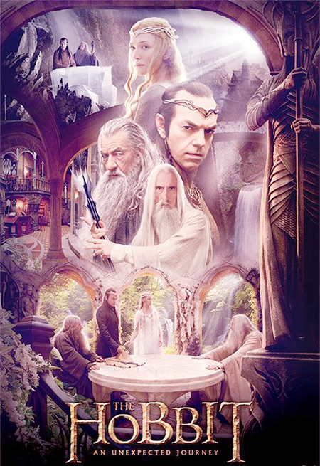 """Cin℮ma """" Le Hobbit: Un voyage inattendu et magnifique """" l'Express"""
