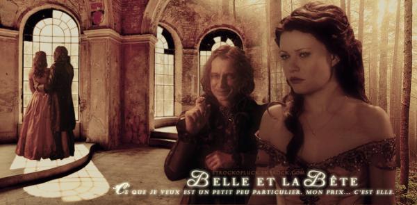 Belle & Rumplestiltkins ~ Once Upon A Time C'est l'amour qui fait rêver. Edith Piaf