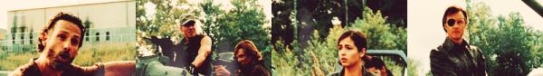 The Walking dead ~ Désespéré Beth : Mon père disait que la mauvaise eau de vie ça rendait aveugle. Daryl : D'façon dehors y'a plus rien qui vaille la peine d'être vu.