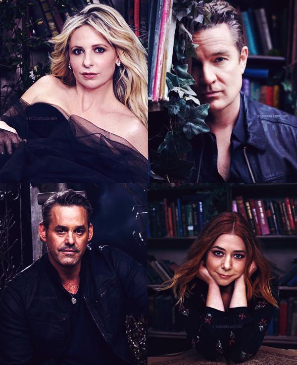 1997 -- > Buffy a 20 ans déjà --> 2017Nous avons fait partie de quelque chose de bien plus grand que nous. - Sarah Michelle Gellar
