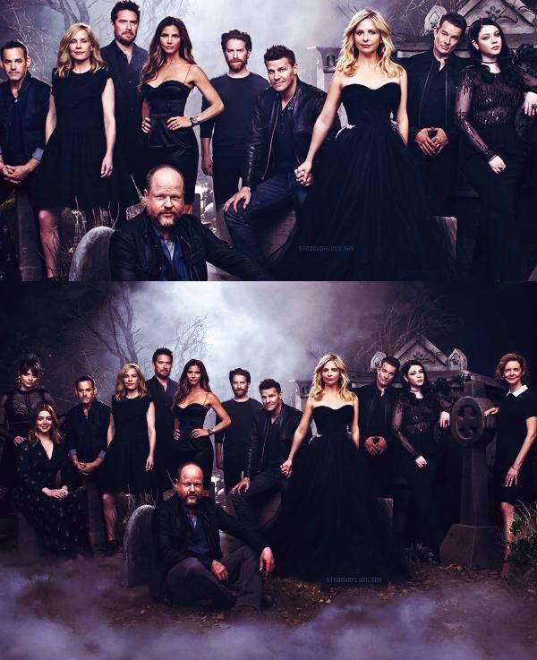 1997 -- > Buffy a 20 ans --> 2017Nous avons fait partie de quelque chose de bien plus grand que nous. - Sarah Michelle Gellar