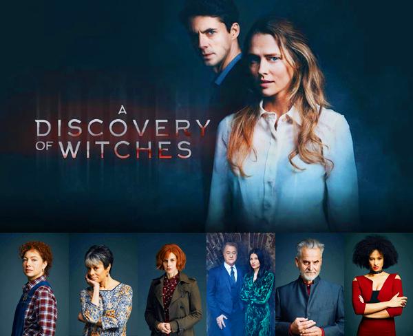 A DISCOVERY OF WITCHES - saison 1 (Nouveauté 2018)