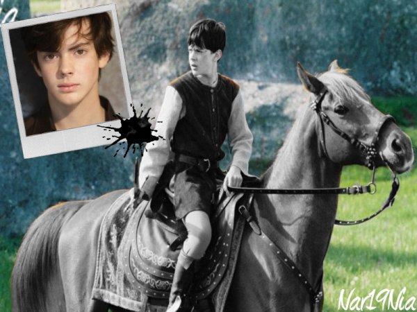 Skandar is Edmund