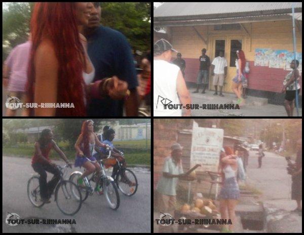 """Rihanna sur le tournage de """"Man Down"""""""