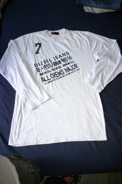 T-shirt Diesel Homme