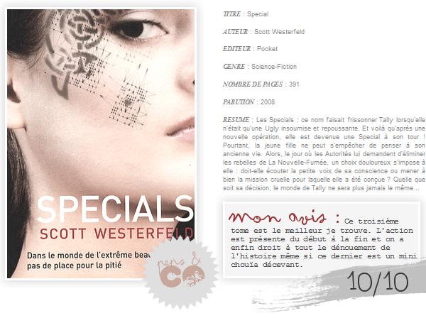 . Specials  , de Scott Westerfeld .