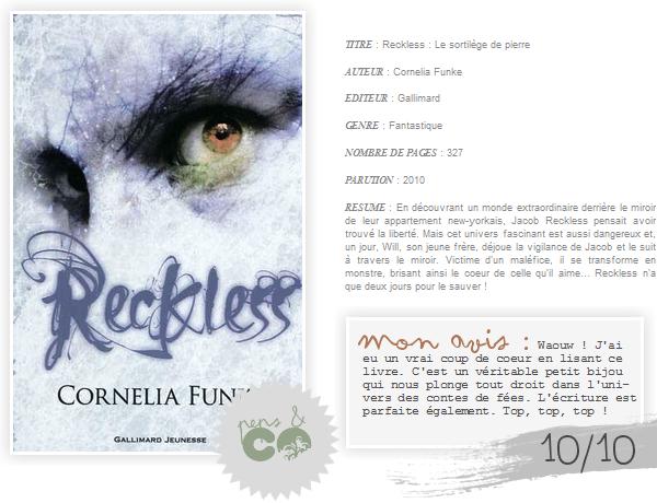 . Reckless ( tome I )    , de Cornelia Funke .