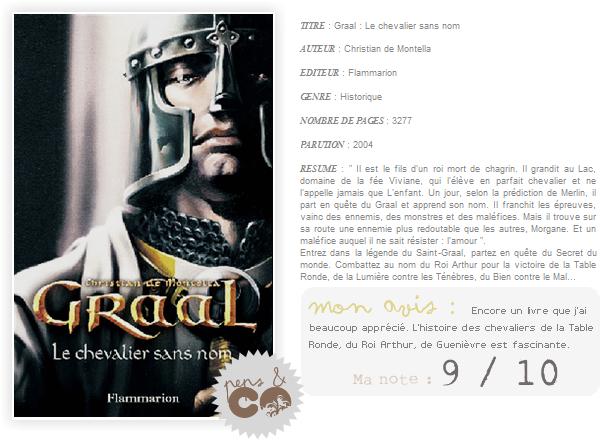 . Graal (tome I), de Christian de Montella .