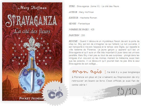 . Stravaganza (tome III) , de Mary Hoffman .