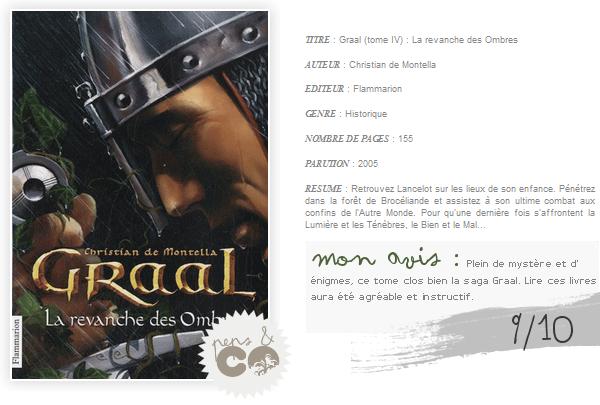 . Graal (tome IV), de Christian de Montella .