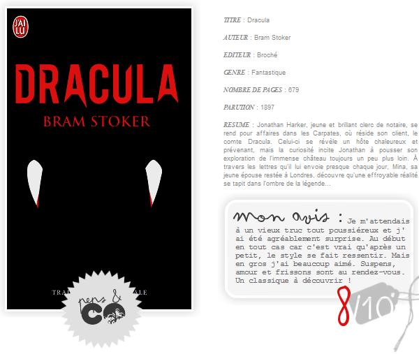 . DRACULA, de Bram Stoker .