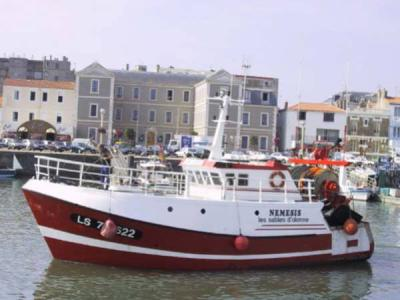 bateau de peche des cote francaise